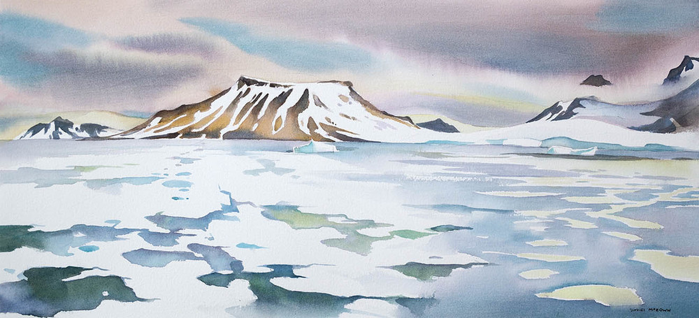 In fast ice , Franz Josef Land