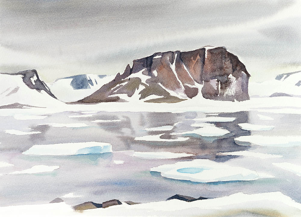 From Tikaya Bukta, Franz Josef Land