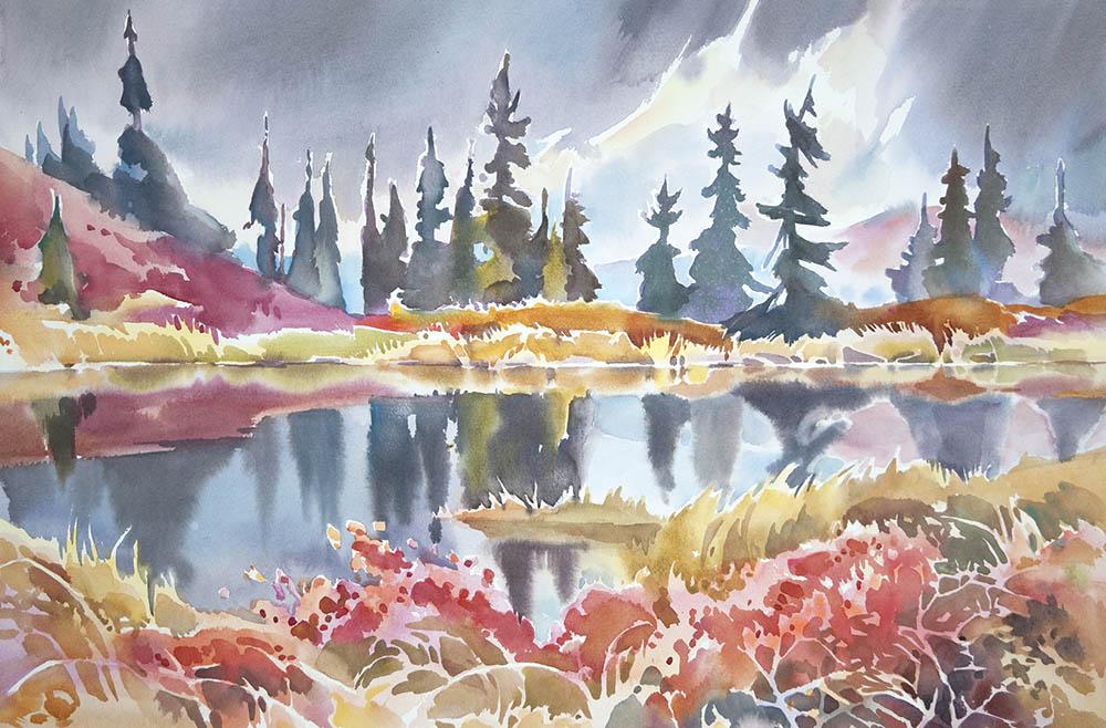 Reflection Pond, Camp Denali