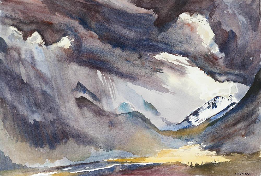 Storm, Oglivie Range Yukon