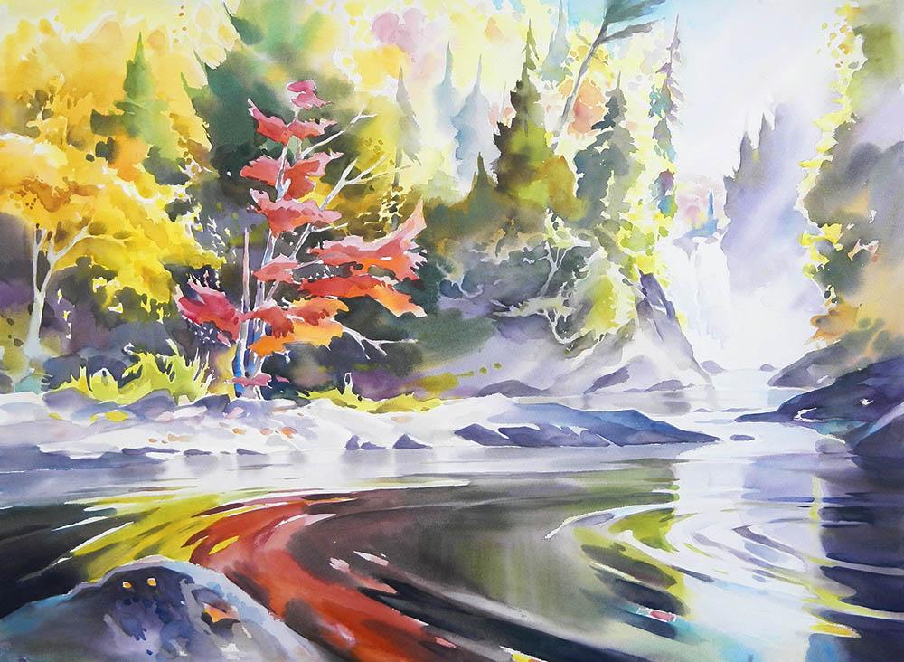 Agawa fall reflections n.7