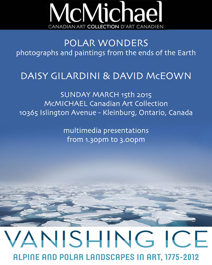 "David and Daisy presented ""Polar Wonders - paintings and photogr"