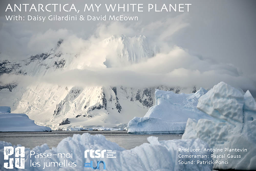 "The documentary ""Antarctica, my white Planet"" featuring David an"
