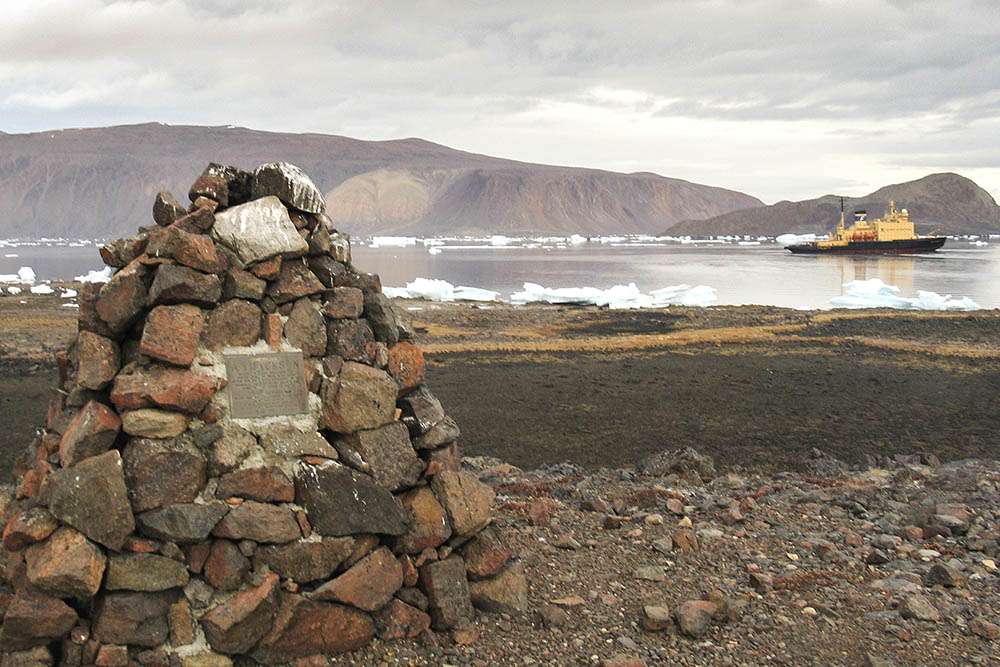 Carin dedicated to A. Y. Jackson on Ellesmere island.