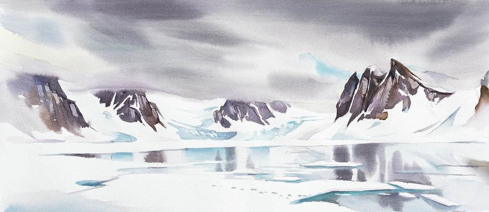 Fast Ice - Raudfjorden
