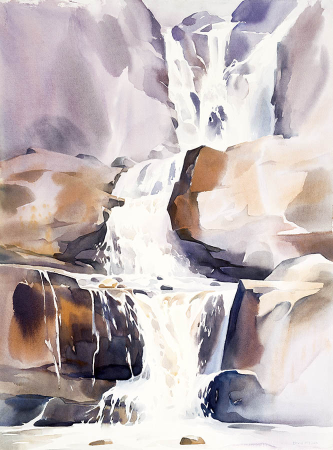 Rocky Mountains Falls Study