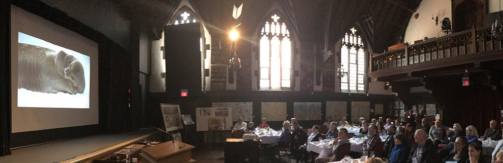 Recent Presentation at the  historic Art and Letters Club in Toronto.
