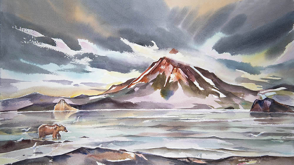 """From Kuril Lake , Kamchatka #1"""