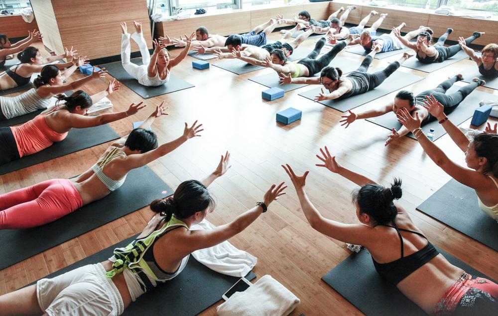 Pure Yoga, Shanghai