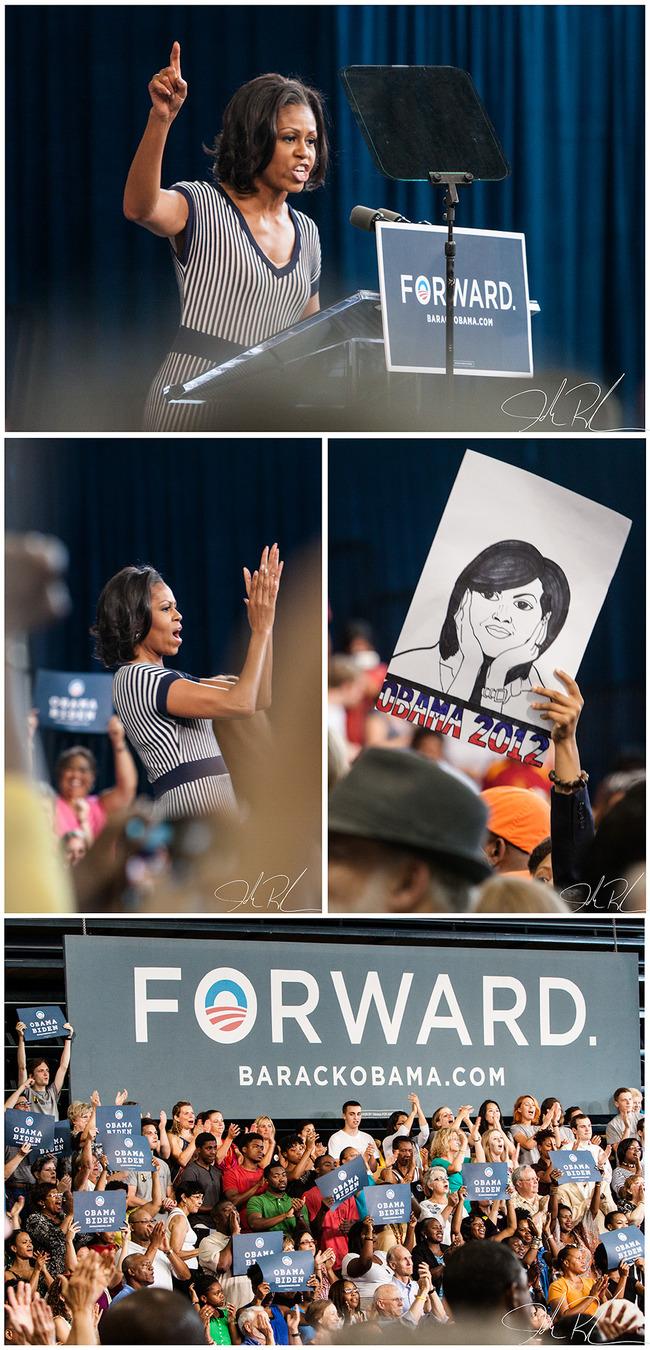 Michelle Obama Forward 2012
