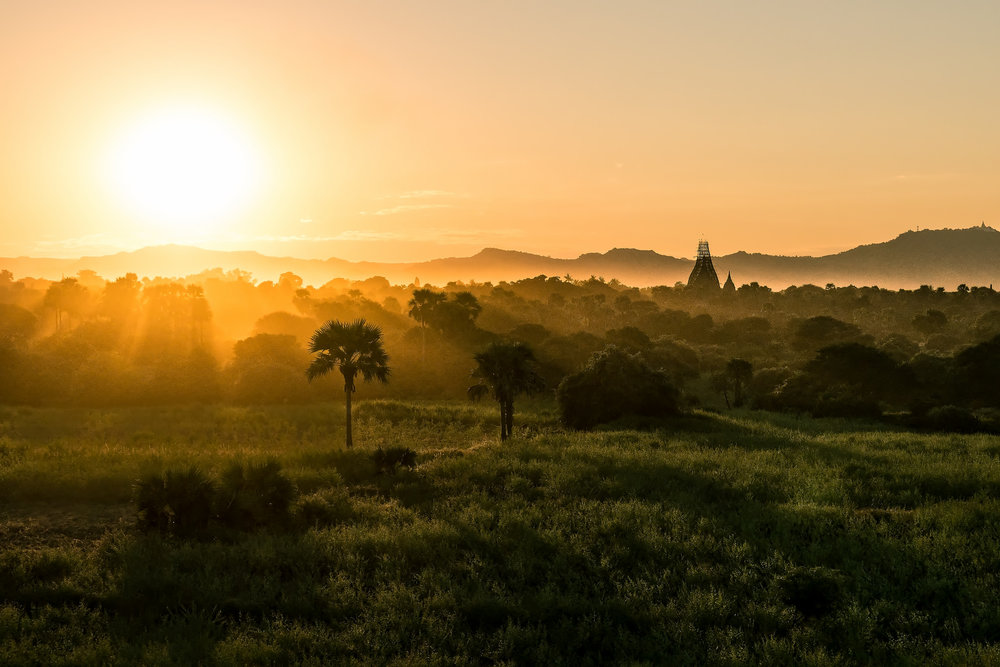 Bagan Sunset II