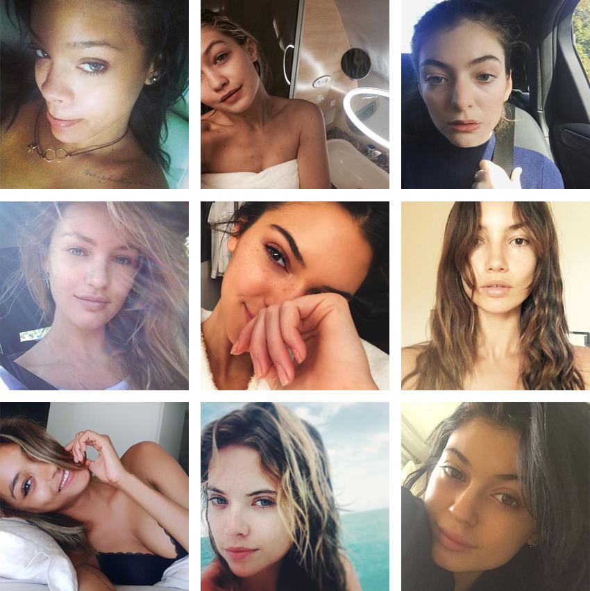 WETHESPIES.COM   9 Celebrities going #NoFilter