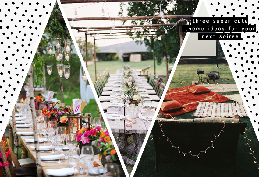 WETHESPIES.COM | 3 Cute Theme Ideas For Your Next Soiree