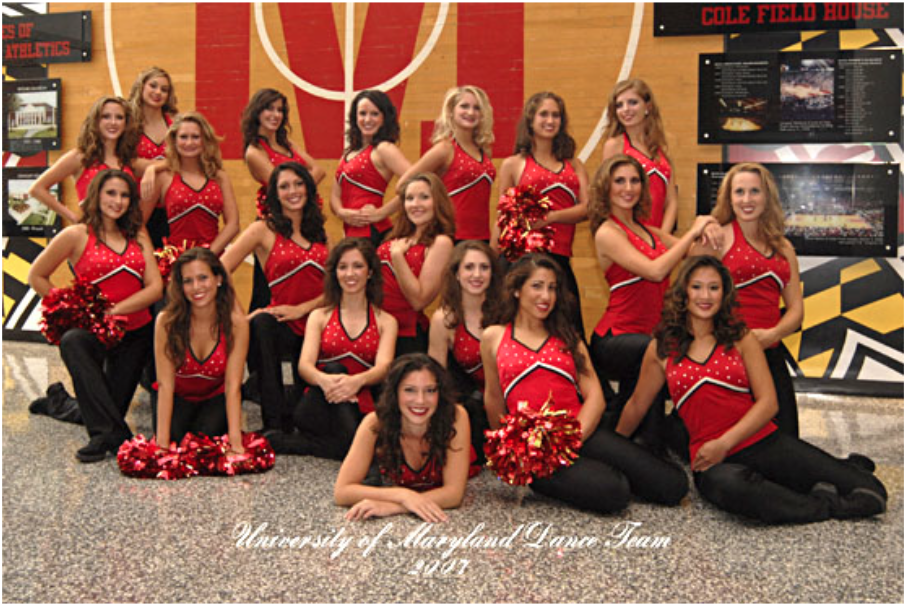 Dance Team 2007 - 2008