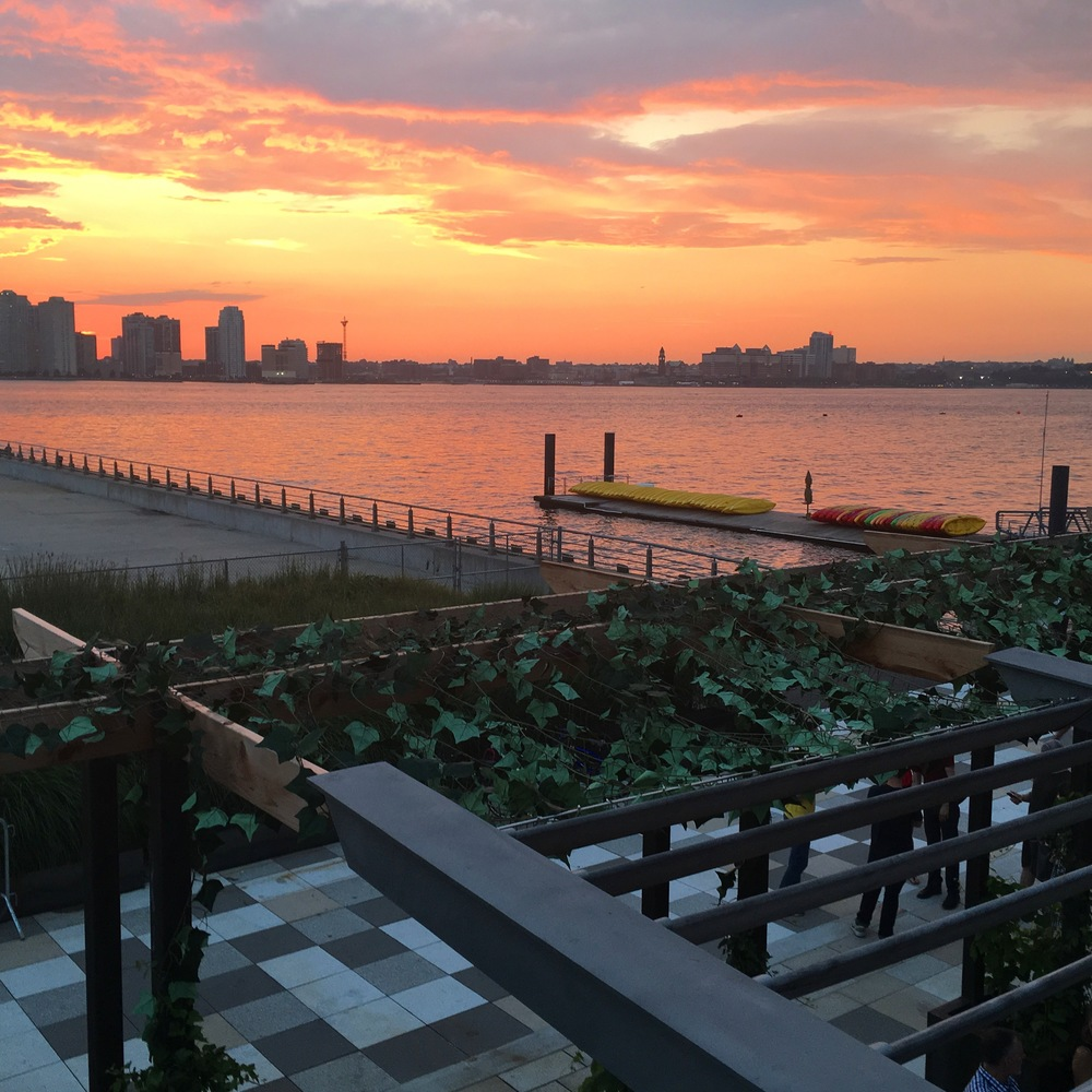 Sunset Hudson River NYC