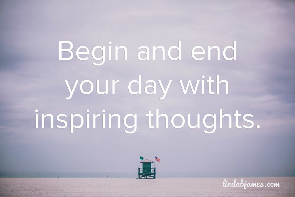 The value of inspiring thoughts