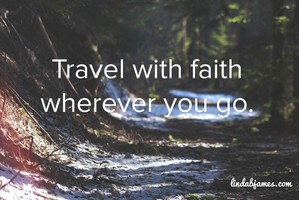 Copy of Travel with faith