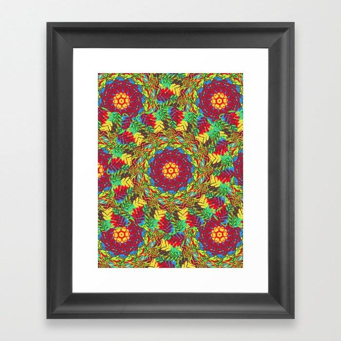 Framed Art Print- Society 6