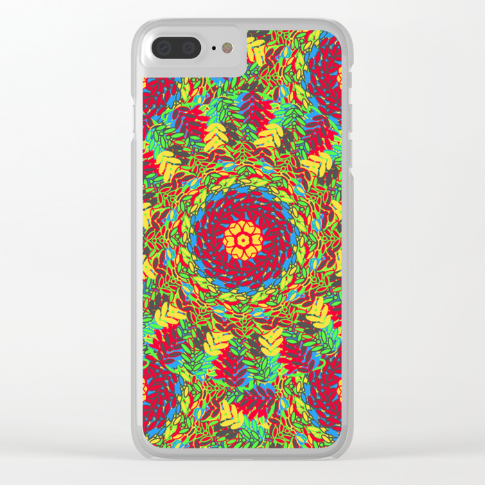 Clear iPhone Case - Society 6