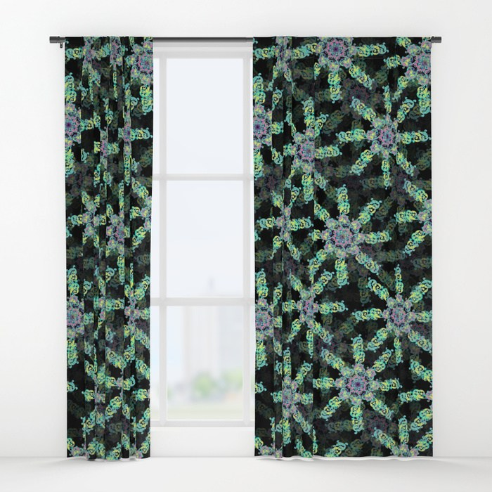 Window Curtains   - Society 6