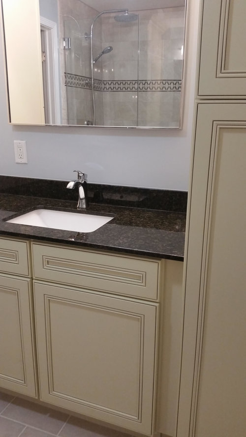 Remodel Master Bath With Custom Shower And Cabinets Ink Design Cool Bathroom Contractors Nj Concept