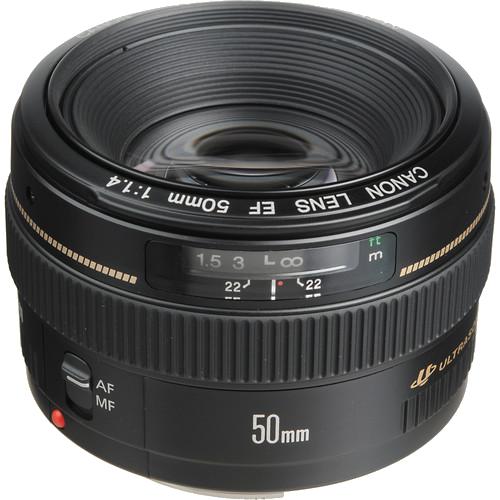 Canon 50mm f/1.4 USM -