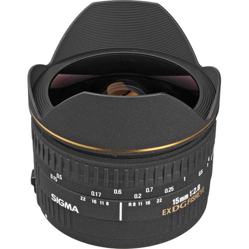 Sigma 15mm f/2.8 EX DG for Canon -