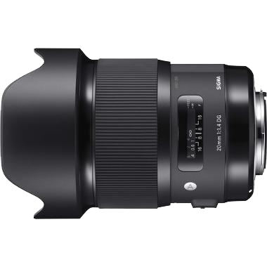Sigma ART 20mm f/1.4 HSM for Canon -