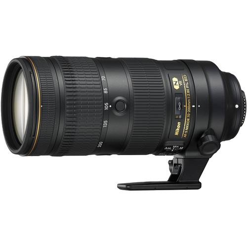 Nikon AF-S NIKKOR 70-200mm f/2.8E FL ED VR -