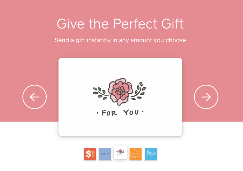 send e-gift cards - Take advantage of this easy-to-deliver gift idea! Choose your amount and send and eGift card to a lucky person. Customize the amount, design, and promo code to fit any special occasion - or simply a fun surprise. Click image to send an eGift card today or schedule its delivery!