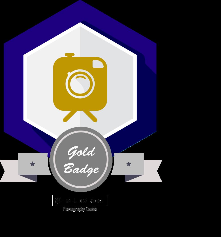 studio boise photography center workshop badge gold education