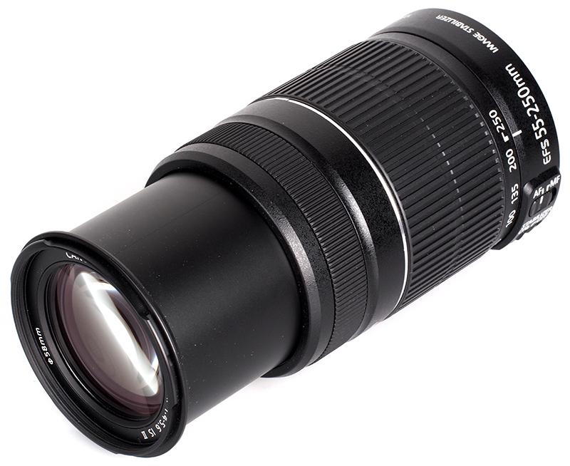 Canon 55-250mm/4-5.6 -