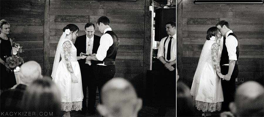 Portland Wedding Photographer Kacy Kizer - McMenamins Cornelius Pass Octagonal Barn