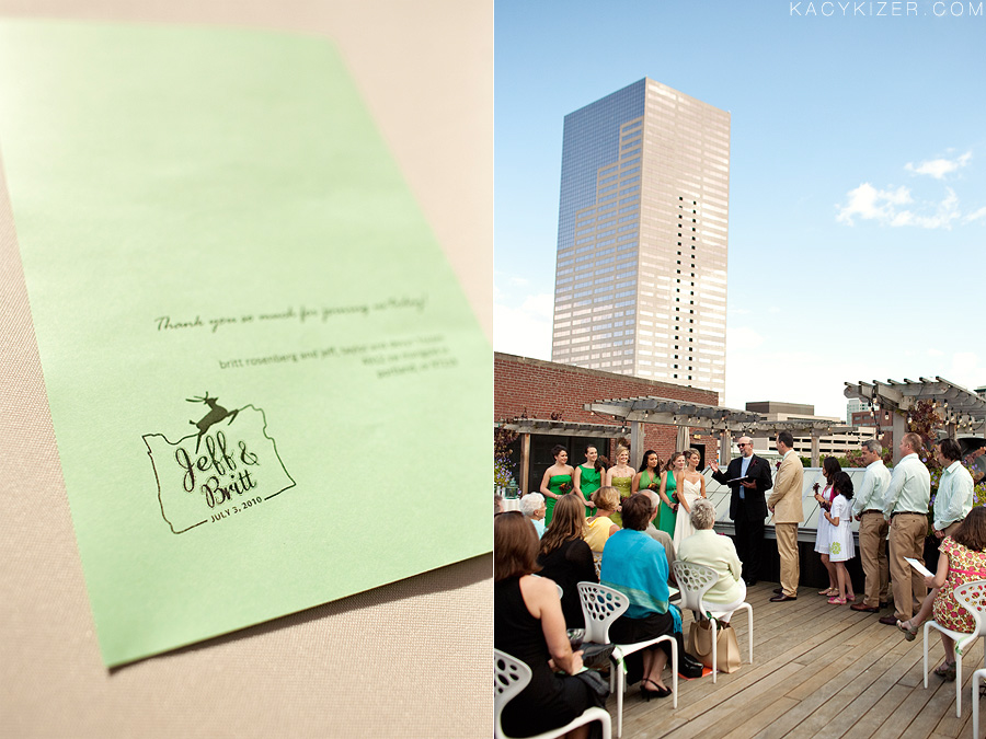 Desoto Rooftop Terrace, Portland Wedding Photography