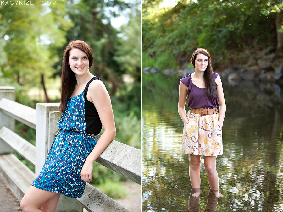 Salem senior photographer - Kacy Kizer