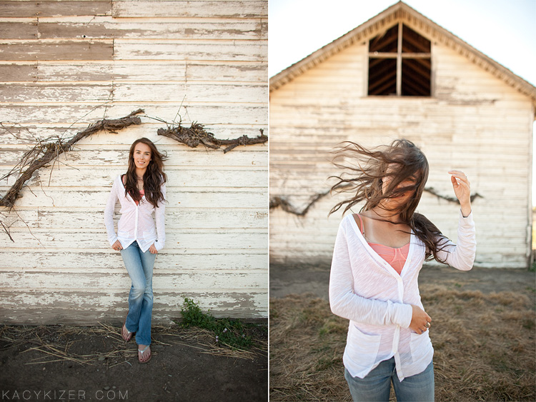 Portland senior portrait photographer Kacy Kizer