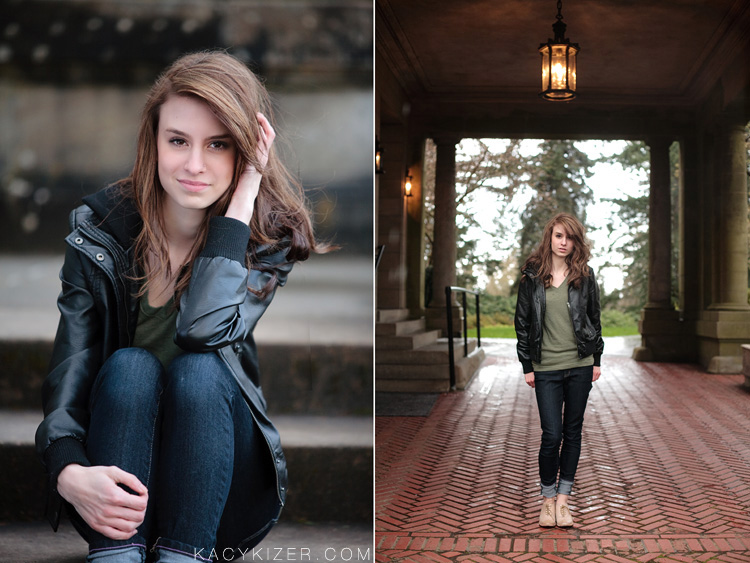 Portland senior portrait photography