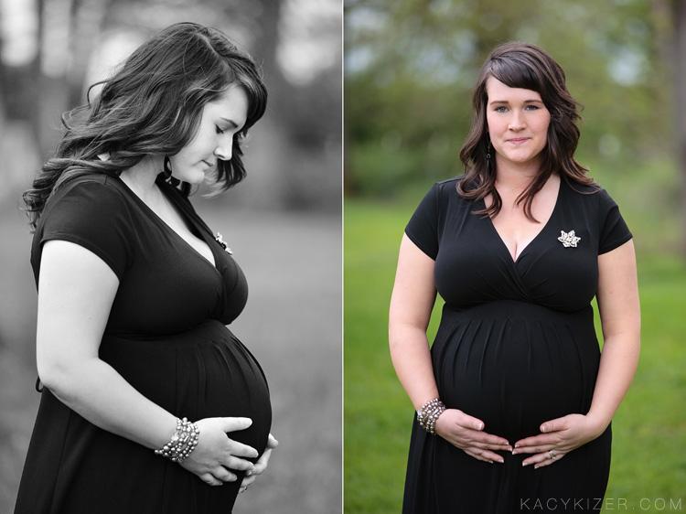 Country maternity portraits - Eugene, Oregon