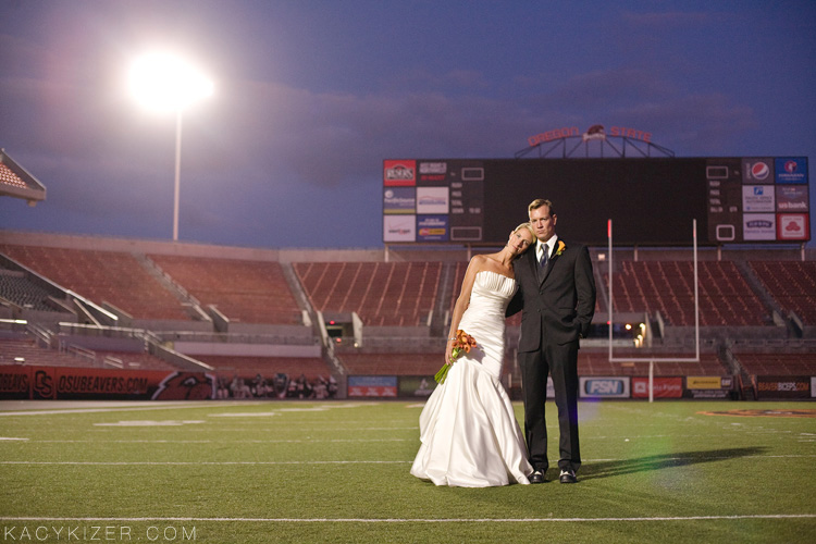 Reser Stadium - Corvallis Wedding Photography