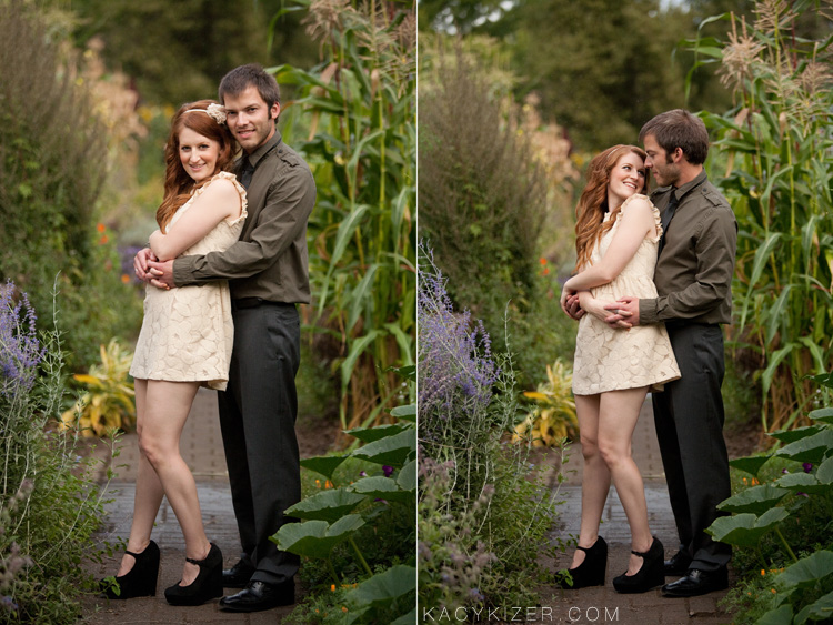 Eugene Engagement Session - Melissa & Reilly