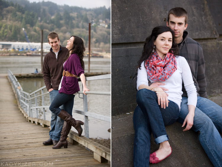 Portland Engagement Photography by Kacy Kizer - Mari & Kelly