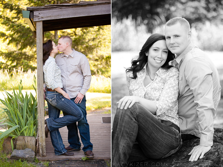Columbia Gorge Engagement Photography - Morgan + Rick