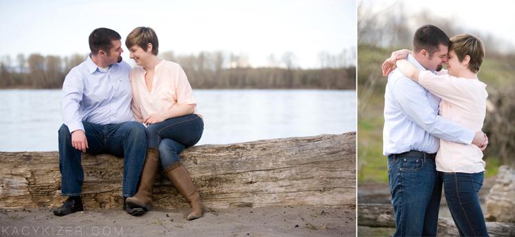 Portland Engagement Photography by Kacy Kizer - Caitlin & Gabe
