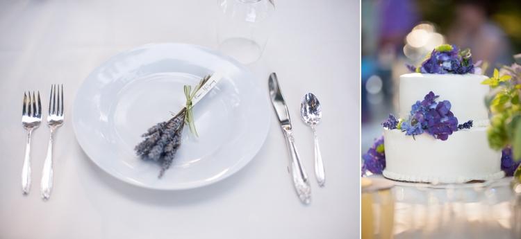 hydrangea wedding cake by fleur cakes
