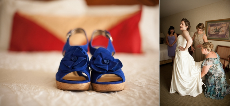 blue wedding shoes in corvallis, oregon