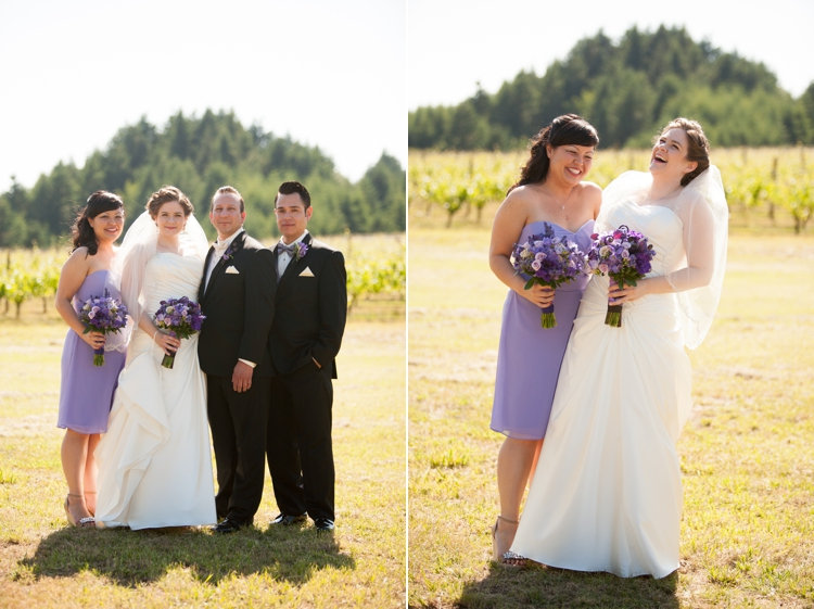 wedding photography at cardwell hill cellars in corvallis, oregon
