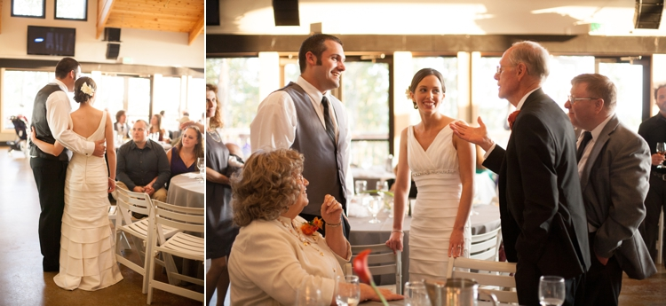 wedding reception at willamette valley vineyards in salem, oregon