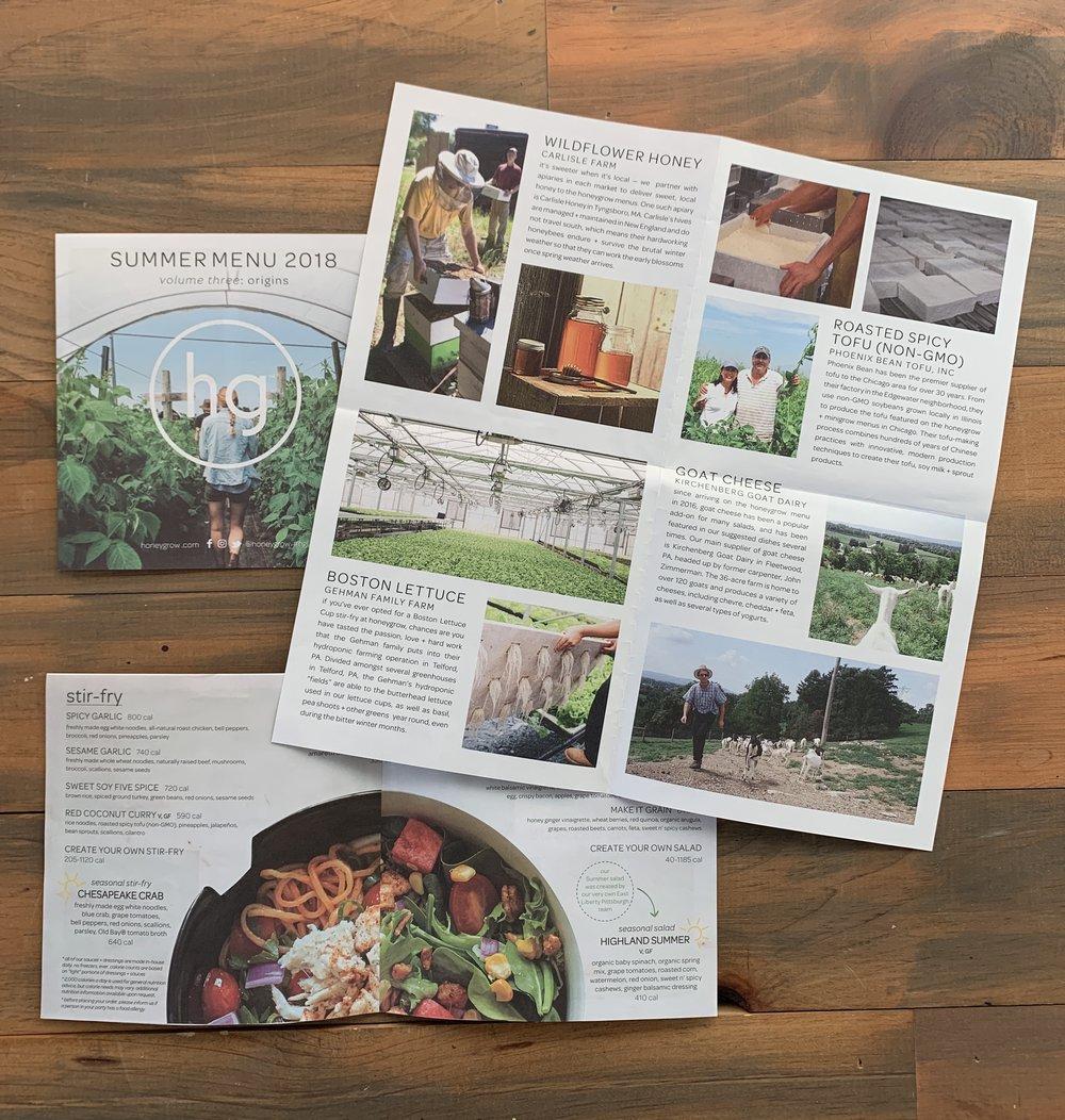 honeygrow Summer Newsletter