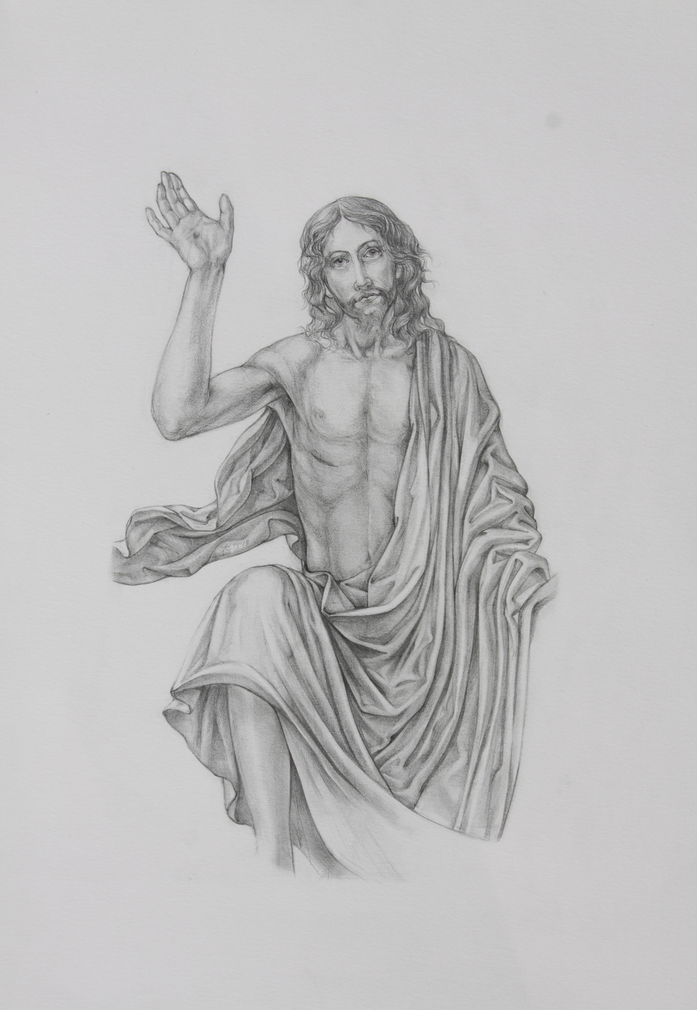 Master study christ risen from the tomb