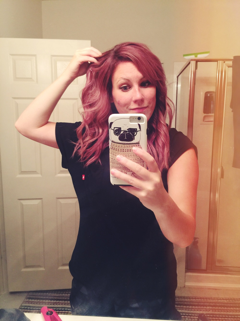 Lilac hair!!!